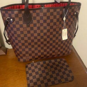 ***Medium neverfull Louis Vuitton MM